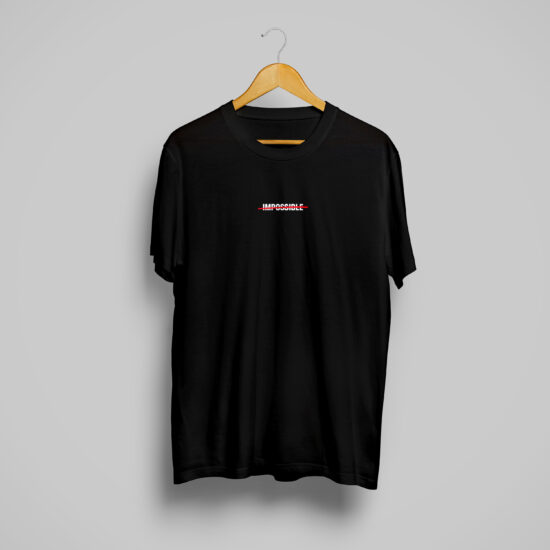 Impossible T-Shirt Black
